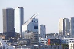 Tallinn moderna Estonia immagini stock libere da diritti