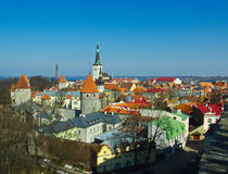 Tallinn old city Royalty Free Stock Photo