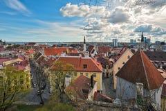 Tallinn. Old city cityscape Stock Photo