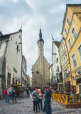 Tallinn old city, Estonia Stock Photos
