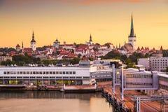 Tallinn Old City Stock Photo