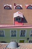 Tallinn. Old Town. Windows of Old Town. Tallinn. Estonia Stock Photography
