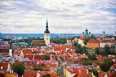 Tallinn Old Town Royalty Free Stock Photos