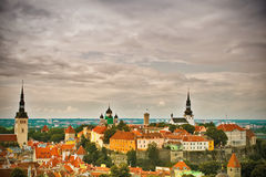 Tallinn Old Town Stock Photography