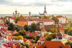 Tallinn old town Stock Photo