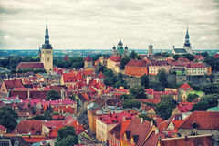 Tallinn Old Town Royalty Free Stock Images