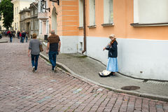 Tallinn old town in Estonia Stock Photography