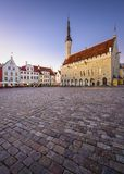 Tallinn Old Town Hall Square Royalty Free Stock Images