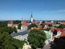 Tallinn Old Town Stock Photo