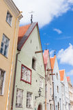 Tallinn old town roofs Royalty Free Stock Image