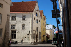 Tallinn Old Town in Tallinn, Estonia Stock Photography