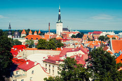 Tallinn Old Town Royalty Free Stock Photography