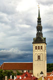 Tallinn oldtown church Royalty Free Stock Photos
