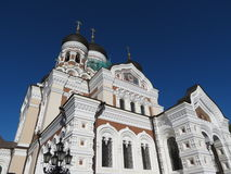 Tallinn, Orthodox cathedral Stock Photos