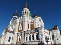 Tallinn, Orthodox cathedral Stock Image