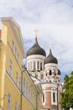 Tallinn Orthodox Cathedral Royalty Free Stock Image