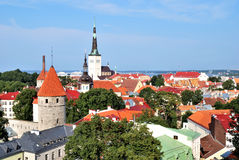 Tallinn, Oude Stad royalty-vrije stock foto's