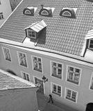 Tallinn. Oude Stad stock afbeelding
