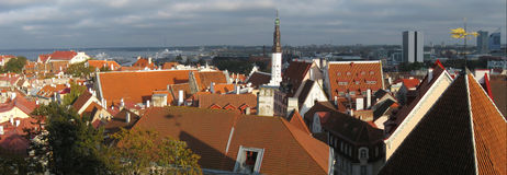 Tallinn panorama Royalty Free Stock Image