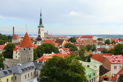 Tallinn panorama Stock Photo