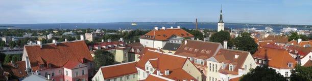 Tallinn panorama Royalty Free Stock Image