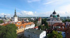 Tallinn panorama Stock Photos