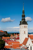 Tallinn panoramic view Stock Image