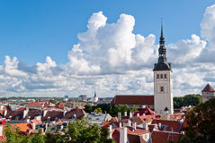 Tallinn panoramic view Royalty Free Stock Photography