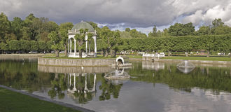 Tallinn. Park Kadriorg Royalty Free Stock Images