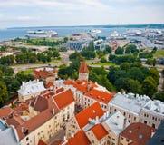 Tallinn port Royaltyfria Bilder