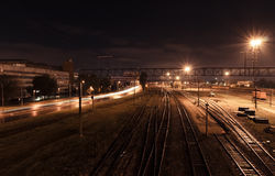 Tallinn railraod station Royalty Free Stock Photography