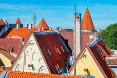 Tallinn roofs. Estonia Royalty Free Stock Photos