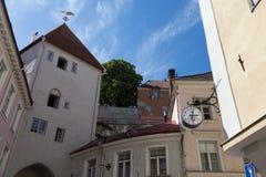 Tallinn`s Long Leg Gate Tower Royalty Free Stock Images