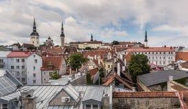 Tallinn sikt royaltyfri fotografi