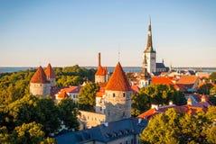 Tallinn skyline, Estonia Stock Images