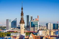 Tallinn Skyline Stock Photos