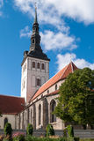 Tallinn, St. Nicholas Church Stock Photos