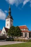 Tallinn, St. Nicholas Church Royalty Free Stock Photography