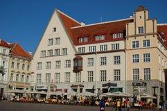 Tallinn - Stadt Hall Square Lizenzfreie Stockfotografie