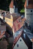 Tallinn-Straße lizenzfreies stockbild