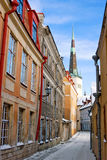 The Tallinn streets Stock Image