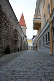 Tallinn streets Royalty Free Stock Photos