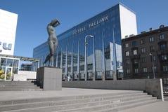 Tallinn. Estonia. Tallink City Hotel. Modern architecture in the capital of Estonia Tallinn.  Tallink City Hotel Royalty Free Stock Images