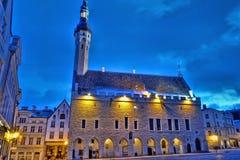 Tallinn Town Hall Stock Images