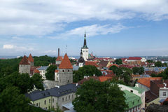 Tallinn vecchia Fotografia Stock