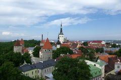 Tallinn velho Fotografia de Stock