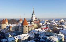 Tallinn velho Imagem de Stock