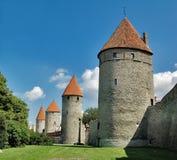 Tallinn velho. Imagem de Stock
