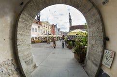 Tallinn vieja Foto de archivo