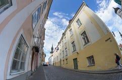 Tallinn vieja Imágenes de archivo libres de regalías